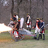 Tower Hill Park, Lexington, MA 4-13-13 : Annual re-enactment of the Militia chasing the British regulars back toward Boston.
